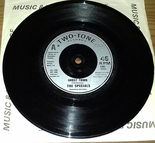 """The Specials - Ghost Town (7"""", Single, Sil) (Two-Tone Records)"""