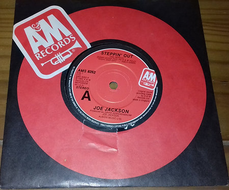 "Joe Jackson - Steppin' Out (7"", Single) (A&M Records)"