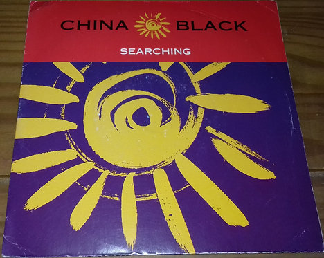 "China Black - Searching (7"", Single) (Wildcard, Wildcard, Wildcard, Chemistry Re"