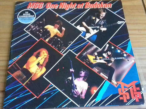 The Michael Schenker Group - One Night At Budokan (2xLP, Album, Gat) (Chrysalis)