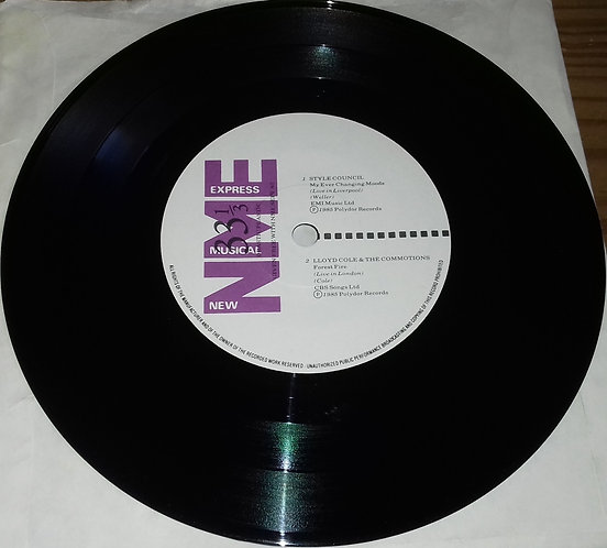 """Various - Drastic Plastic (7"""", EP) (New Musical Express)"""