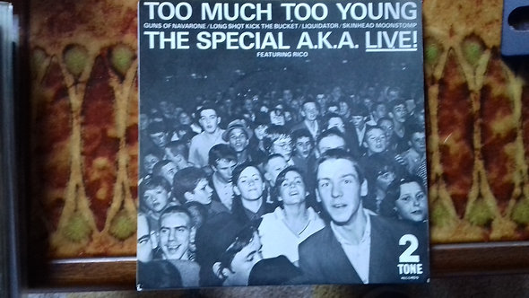 """The Special A.K.A.* Featuring Rico* - Too Much Too Young (7"""", EP, Single, Sil)"""