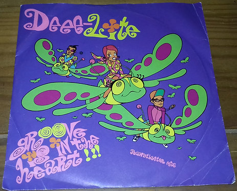 "Deee-Lite - Groove Is In The Heart (7"", Single) (Elektra, Elektra)"
