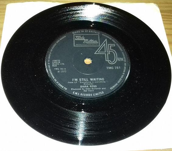 "Diana Ross - I'm Still Waiting (7"", Single) (Tamla Motown)"