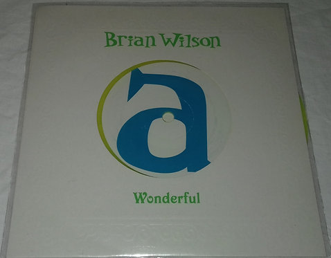 "Brian Wilson - Wonderful (7"", Single, Ltd, Yel) (Must... Destroy!!, Nonesuch, At"