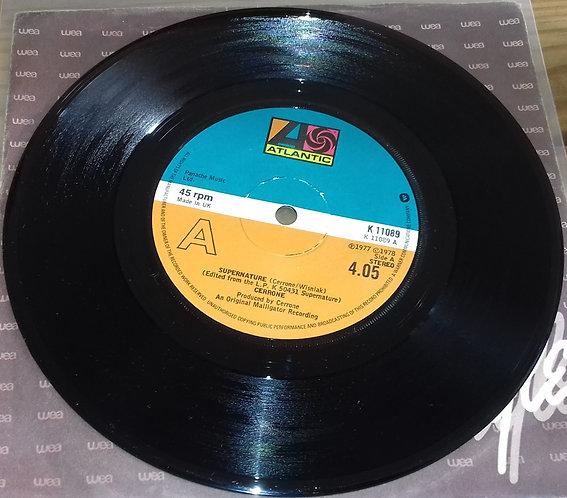 """Cerrone - Supernature (7"""", Single) (Atlantic)"""