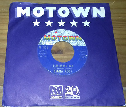 "Diana Ross - Remember Me / How About You (7"", Single, ARP) (Motown)"