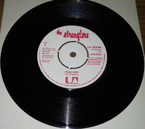 "The Stranglers - Peaches / Go Buddy Go (7"", Apr) (United Artists Records)"