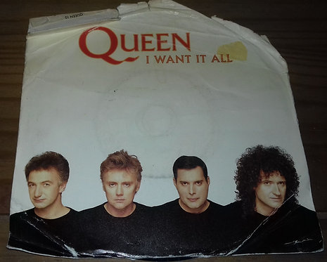 """Queen - I Want It All (7"""", Single, Pap) (Parlophone)"""