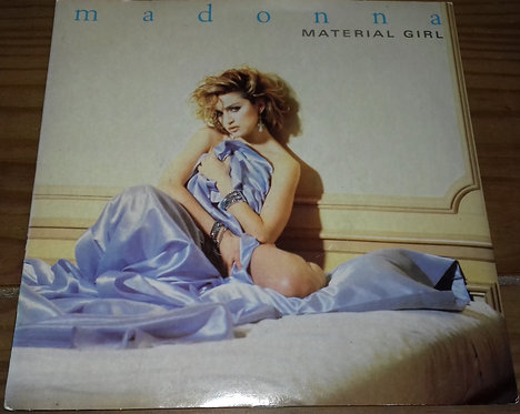 "Madonna - Material Girl (7"", Single, Sil) (Sire, Sire)"