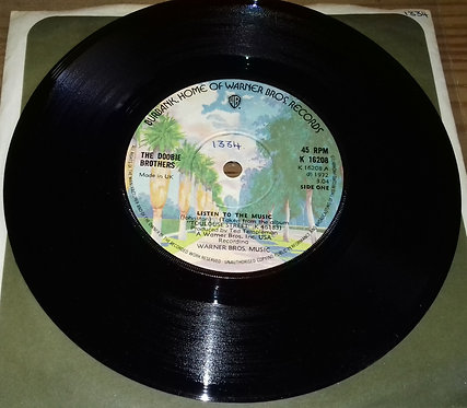 """The Doobie Brothers - Listen To The Music (7"""", Single) (Warner Bros. Records)"""