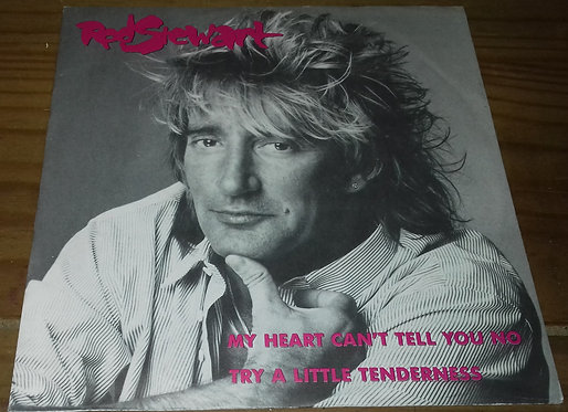 """Rod Stewart - My Heart Can't Tell You No (7"""", Single) (Warner Bros. Records)"""