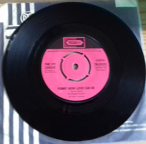 """The Ivy League - Funny How Love Can Be (7"""", Single, Kno) (Piccadilly)"""