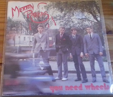 "The Merton Parkas - You Need Wheels (7"", Single, One) (Beggars Banquet)"