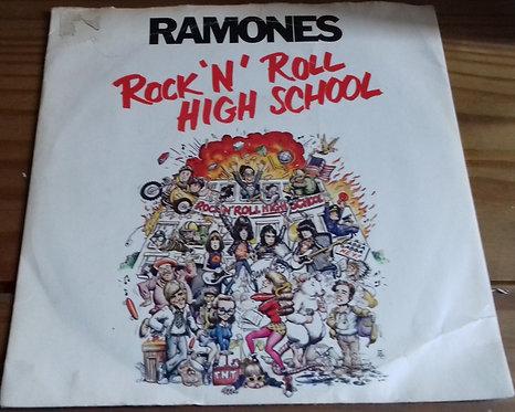 "Ramones - Rock 'N' Roll High School (7"", Single) (Sire)"