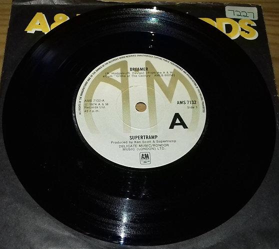 "Supertramp - Dreamer (7"", Single, Lab) (A&M Records)"