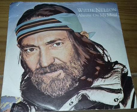 """Willie Nelson - Always On My Mind (7"""") (CBS, CBS)"""