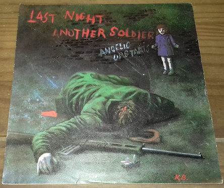 "Angelic Upstarts - Last Night Another Soldier (7"", Single) (Angelic Upstarts, Z"