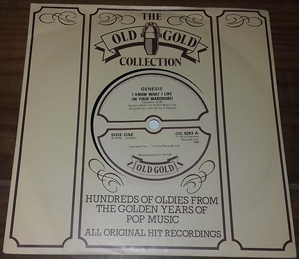 """Genesis - I Know What I Like (In Your Wardrobe) (7"""") (Old Gold (2))"""