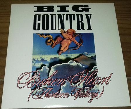 "Big Country - Broken Heart (Thirteen Valleys) (7"", Single) (Mercury, Mercury)"