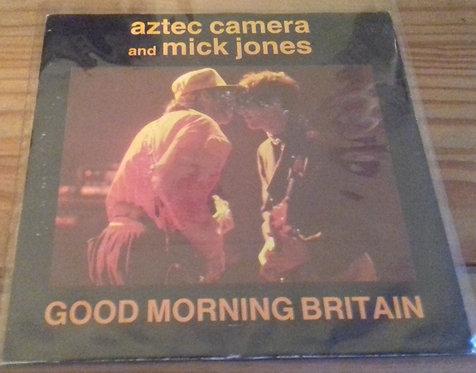 "Aztec Camera And Mick Jones - Good Morning Britain (7"", Single) (WEA, WEA)"