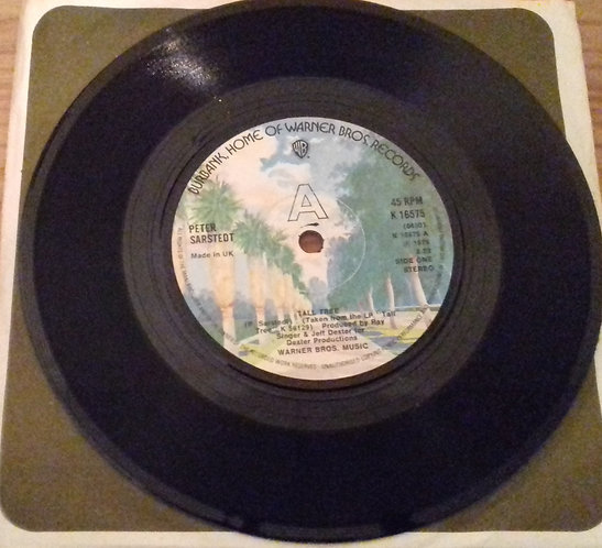 "Peter Sarstedt - Tall Tree (7"", Single) (Warner Bros. Records)"