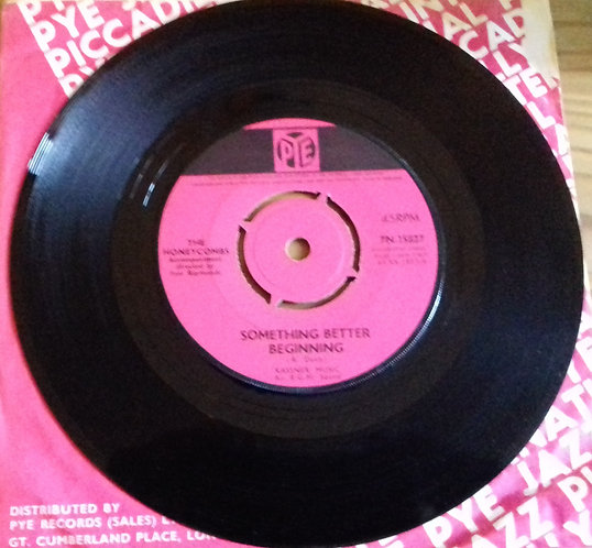 "The Honeycombs - Something Better Beginning (7"", Single) (Pye Records)"