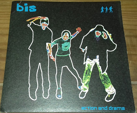 """Bis - Action And Drama (7"""", Single) (Wiiija Records)"""