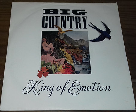 "Big Country - King Of Emotion (7"", Sil) (Mercury, Mercury)"