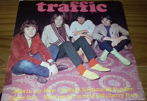 """Traffic - Hole In My Shoe (7"""", EP) (Island Records, Island Records)"""