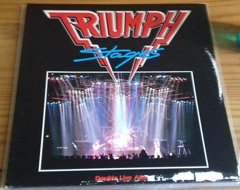 Triumph  - Stages (2xLP, Album) (MCA Records)
