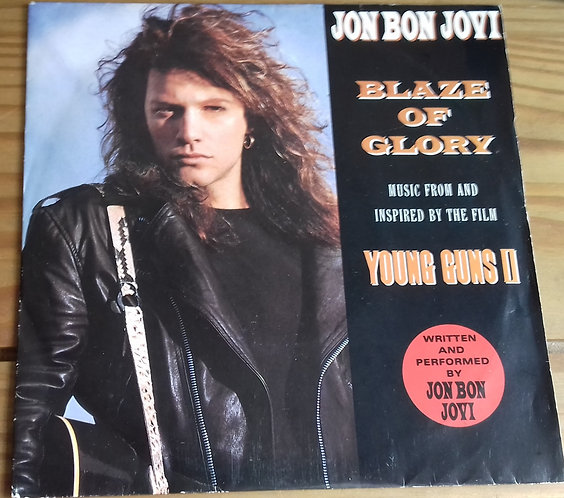 "Jon Bon Jovi - Blaze Of Glory (7"", Single, Sil) (Vertigo, Vertigo)"