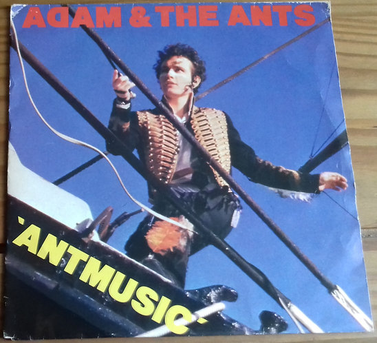 "Adam & The Ants* - Antmusic (7"", Single, Sol) (CBS)"