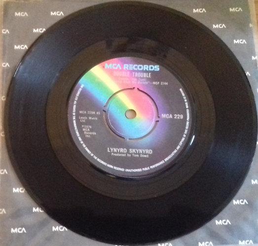 """Lynyrd Skynyrd - Double Trouble (7"""", Single) (MCA Records)"""