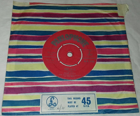 """Adam Faith - Who Am I? / This Is It (7"""", Single) (Parlophone)"""