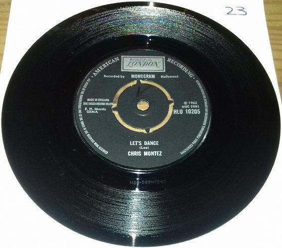 "Chris Montez - Let's Dance / Some Kinda Fun (7"", Single) (London Records, London"