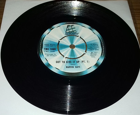 """Marvin Gaye - Got To Give It Up (7"""", Single) (Motown)"""