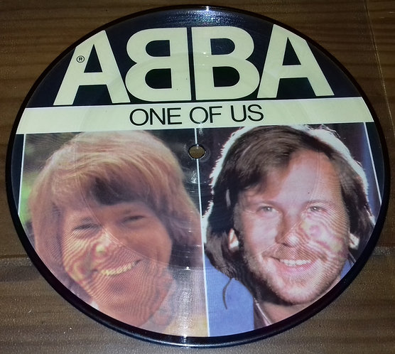 "ABBA - One Of Us (7"", Single, Pic) (Epic)"