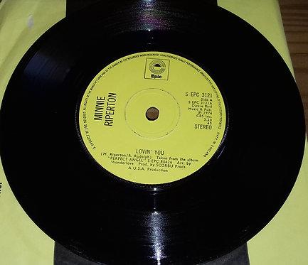 "Minnie Riperton - Lovin' You (7"", Single, Yel) (Epic)"