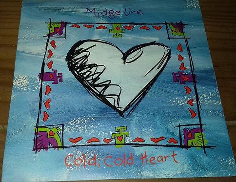 "Midge Ure - Cold, Cold Heart (7"", Sil) (Arista, Arista)"