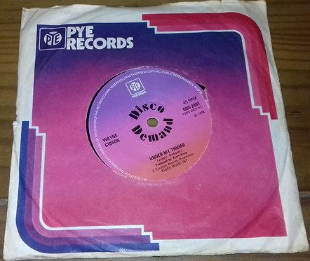 "Wayne Gibson - Under My Thumb (7"", Single, Sol) (Pye Records)"