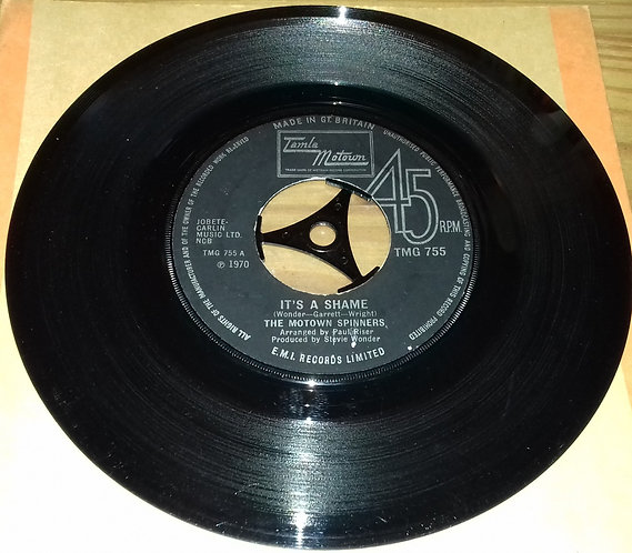 """The Motown Spinners* - It's A Shame (7"""", Single, Kno) (Tamla Motown)"""