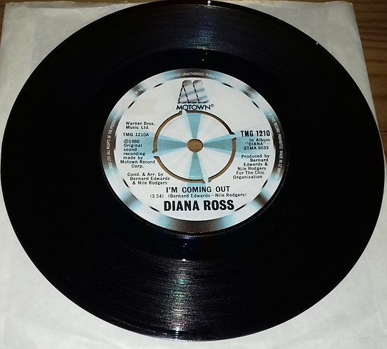 "Diana Ross - I'm Coming Out (7"", Single, Kno) (Motown)"