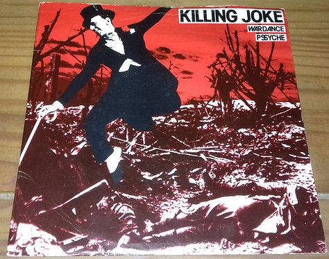 """Killing Joke - Wardance / Pssyche (7"""", Single, E.G) (Malicious Damage)"""