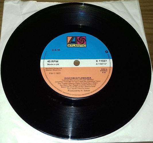 """D.B.M. - Discobeatlemania (7"""", Single, P/Mixed) (Atlantic)"""