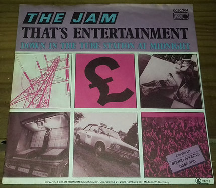 "The Jam - That's Entertainment (7"", Single) (Metronome)"