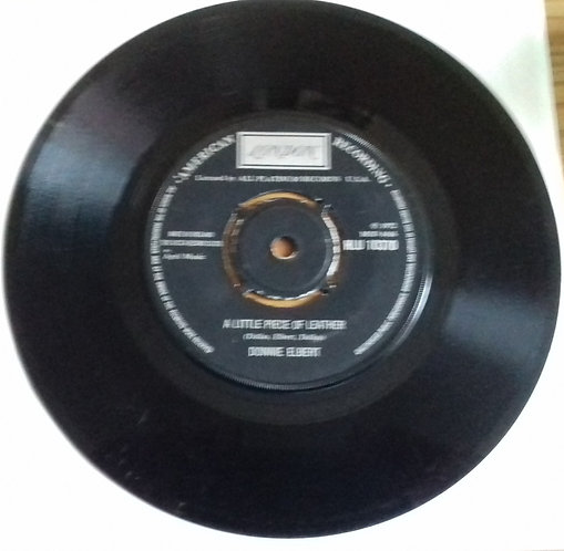 """Donnie Elbert - A Little Piece Of Leather (7"""", Single) (London Records, London A"""