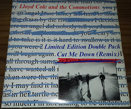 """Lloyd Cole And The Commotions* - Cut Me Down (Remix) (2x7"""", Single, Ltd) (Polyd"""