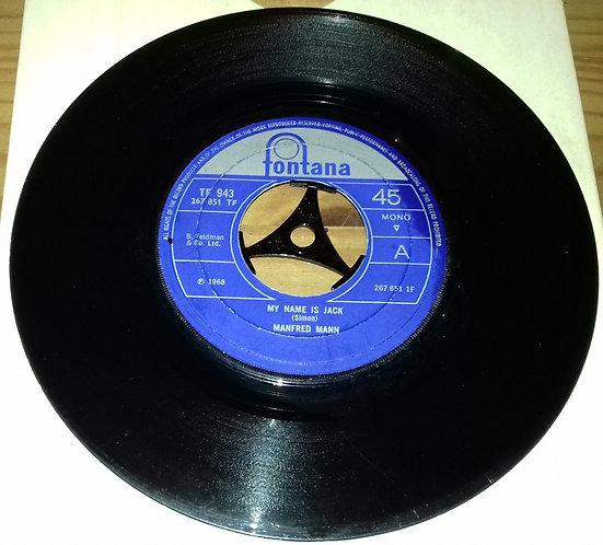 "Manfred Mann - My Name Is Jack (7"", Single, Mono, Lar) (Fontana)"