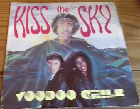 """Kiss The Sky - Voodoo Chile (7"""", Single) (Fast Forward Records, Fast Forward Rec"""